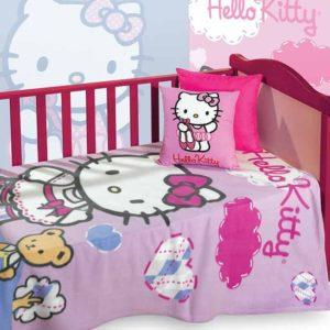 κουβέρτα-fleece-κούνιας-hello-kitty-hk61