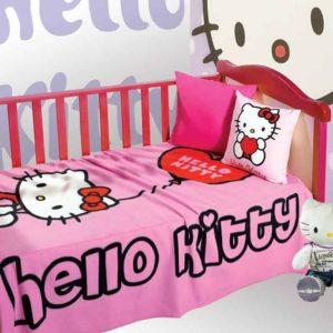 κουβέρτα-fleece-κούνιας-hello-kitty-hk62