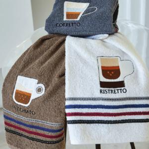 KLOTSOTIRAS ΓΚΡΙ ΠΕΤΣΕΤΕΣ ΚΟΥΖΙΝΑΣ (40Χ60) - ITALIAN COFFEE - K20769