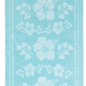 NIMA HOME ΠΕΤΣΕΤΑ ΘΑΛΑΣΣΗΣ (90Χ160) 100% EGYPTIAN VELOUR COTTON  | HAWAI AQUA - K27676