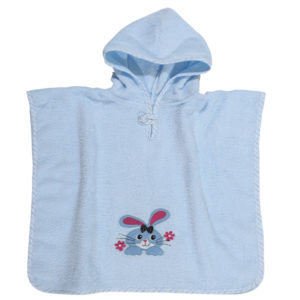 DAS HOME ΠΟΝΤΣΟ 45Χ90 BABY SMILE EMBROIDERY 6540-K38793