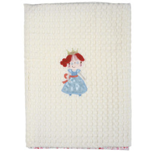 DAS HOME ΚΟΥΒΕΡΤΑ ΠΙΚΕ 80X110 BABY DREAM EMBROIDERY 6511-K38689