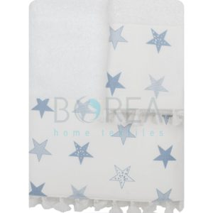 BOREA ΣΕΤ ΣΙΕΛ ΠΕΤΣΕΤΕΣ ΠΑΙΔΙΚΕΣ ΜΠΑΝΙΟΥ / ΧΕΙΡΟΣ WHITE STAR  -K45780